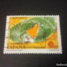 Sellos: ESPAÑA 2002, EUROPA, EL PAYASO. Lote 187623892