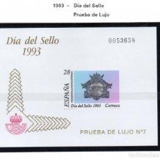 Sellos: ESPAÑA SPAIN PRUEBA DE LUJO Nº 28. Lote 188761813