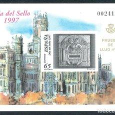 Sellos: ESPAÑA SPAIN PRUEBA DE LUJO Nº 62. Lote 188762086