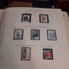 Sellos: ESPAÑA COLECCION SELLOS 1982 /1993 SELLOS NUEVOS ALGUNOS USADOS EN HOJAS OLEGARIO 181/278. Lote 189175003