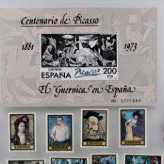 Sellos: SERIE COMPLETA PICASSO, DESDE 1978/1981. Lote 201602142