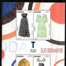 Sellos: ESPAÑA 2011. H B MODA ESPAÑOLA. ELIO BERHANYER. EDIFIL 4674. NUEVO MNH. Lote 189782620