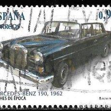 Timbres: ESPAÑA. 2013. COCHES DE ÉPOCA. MERCEDES BENZ. EDIFIL SH 4788A. Lote 190385590
