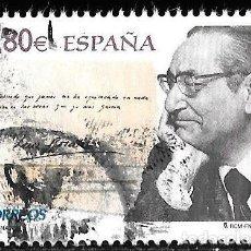 Timbres: ESPAÑA 2011. POETA LUIS ROSALES. EDIFIL 4670. USADO. Lote 190557476