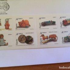 Sellos: ESPAÑA 2006 EDIFIL 4199 /4206 JUGUETES SELLOS NUEVOS AUTOADESIVOS TARIFA A. Lote 190608142