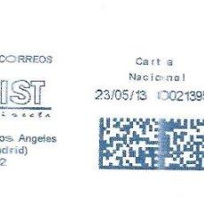 Sellos: SOBRE COMPLETO. FRANQUEO MECANICO AZUL ENTIDAD COLABORADORA PUBLIDIST.. Lote 190632800