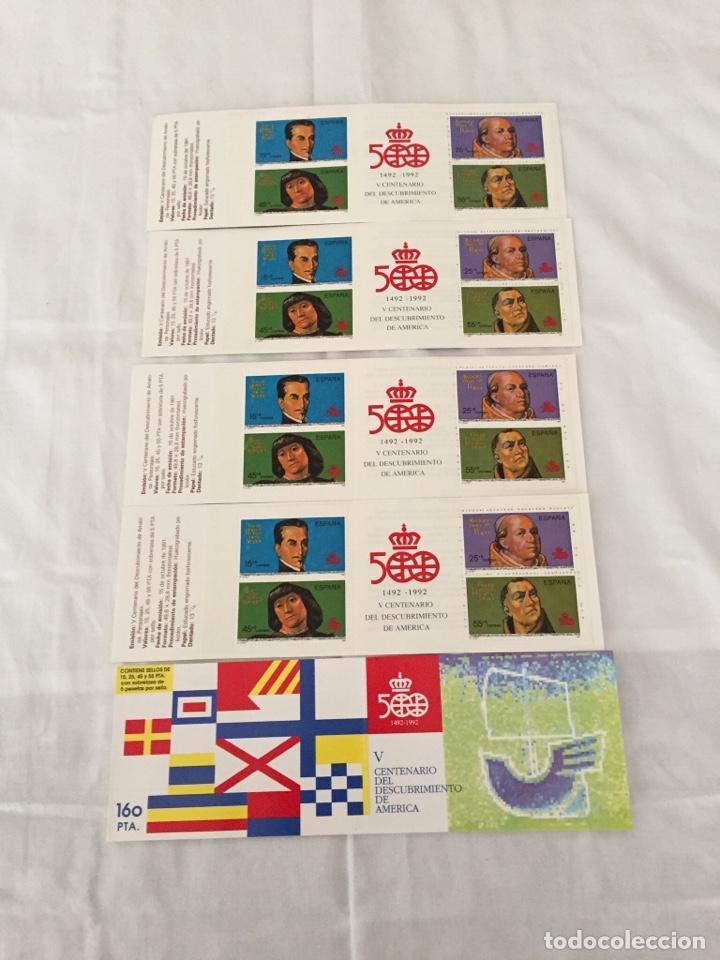 CARNET V CENTENARIO AÑO91 (Sellos - España - Juan Carlos I - Desde 1.986 a 1.999 - Nuevos)