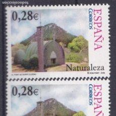 Sellos: TT21-NATURALEZA EL PONT DE SUERT (LÉRIDA) . 0.28 € VARIEDAD . ** SIN FIJASELLOS. Lote 191244463