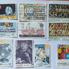 Sellos: LOTE 10 SELLOS USADOS 1987-88-89. Lote 191249955