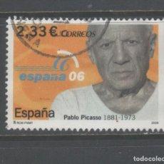 Sellos: SELLO USADO DE ESPAÑA -ESPAÑA 06, PABLO PICASSO-, AÑO 2006, EN MUY BUEN ESTADO. Lote 191277048