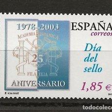 Sellos: R13-B.G5/ ESPAÑA 2003, EDIFIL 3980 MNH**, DIA DEL SELLO. Lote 191280461