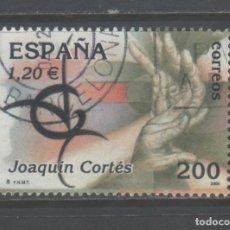 Sellos: SELLO USADO DE ESPAÑA -ESPAÑA'2000, JOAQUÍN CORTÉS-, AÑO 2000. Lote 191291335
