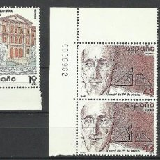 Sellos: ESPAÑA 1987 - PAREJA - EDIFIL 2875-2880-2884. Lote 191411273