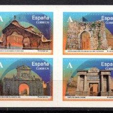 Sellos: ESPAÑA 4838C** - AÑO 2014 - ARQUITECTURA - ARCOS Y PUERTAS MONUMENTALES. Lote 191538262