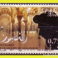 Sellos: 2002 MILENARIO DE LA MUERTE DE ALMANZOR, EDIFIL Nº 3934 (O) . Lote 191577796