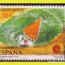 Sellos: 2002 EUROPA, EDIFIL Nº 3896 (O) . Lote 191578238