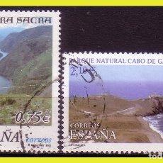 Sellos: 2002 NATURALEZA, EDIFIL Nº 3884 Y 3885 (O) . Lote 191579095