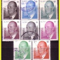 Sellos: 2002 S.M. D. JUAN CARLOS, EDIFIL Nº 3857 Y 3864 (O) . Lote 191580441
