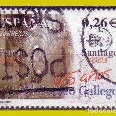 Sellos: 2003 DIARIOS CENTENARIOS, EL CORREO GALLEGO, EDIFIL Nº 4011 (O) . Lote 191651506