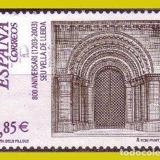 Sellos: 2003 800 AÑOS SEO ANTIGUA DE LLEIDA, EDIFIL Nº 4001 (O) . Lote 191651570