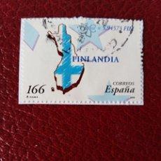 Sellos: SELLO PAÍSES DEL EURO FINLANDIA ESPAÑA. Lote 191698585