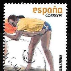 Timbres: ESPAÑA 2008. LUCHA CANARIA. EDIFIL SH 4426 C. USADO. Lote 191722850