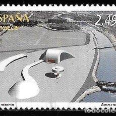 Timbres: ESPAÑA 2010. FILATEM AVILES. CENTRO NIEMEYER. EDIFIL 4575. USADO. Lote 191724488