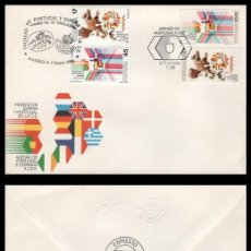 Sellos: SOBRE, INGRESO DE ESPAÑA Y PORTUGAL EN LA C.E. 1986 NUEVO.. Lote 192138078