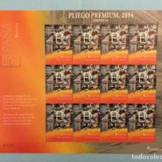 """Sellos: 2014-ESPAÑA EDIFIL 4878 MNH** MARCA ESPAÑA """"E"""" DE EMPRESA - PLIEGO PREMIUM Nº 5. Lote 192585383"""