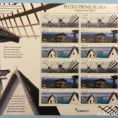 Sellos: 2014-ESPAÑA EDIFIL 4863/65 MNH** ARQUITECTURA RURAL - PLIEGO PREMIUM Nº 1. Lote 220794373