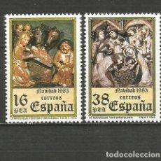 Sellos: ESPAÑA NAVIDAD EDIFIL NUM. 2729/2730 ** SERIE COMPLETA SIN FIJASELLOS. Lote 296013638