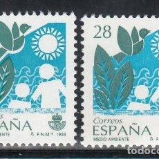 Selos: ESPAÑA, VARIEDAD, 1993 EDIFIL Nº 3238, COLOR AZUL DESPLAZADO, NO CATALOGADO,. Lote 193007580