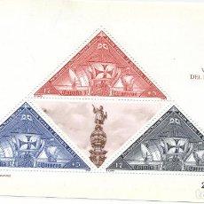 Sellos: HOJA-BLOQUE V CENTENARIO DEL DESCUBRIMIENTO DE AMÉRICA. EDIFIL 3163. 1992 Nº.2206472. Lote 193014722