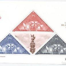 Sellos: HOJA-BLOQUE V CENTENARIO DEL DESCUBRIMIENTO DE AMÉRICA. EDIFIL 3163. 1992 Nº.2206475. Lote 193014951