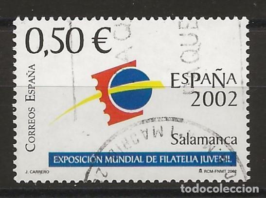 TV_001/ ESPAÑA USADOS 2002, EDIFIL 3877, ESPAÑA 2002 (Sellos - España - Juan Carlos I - Desde 2.000 - Usados)