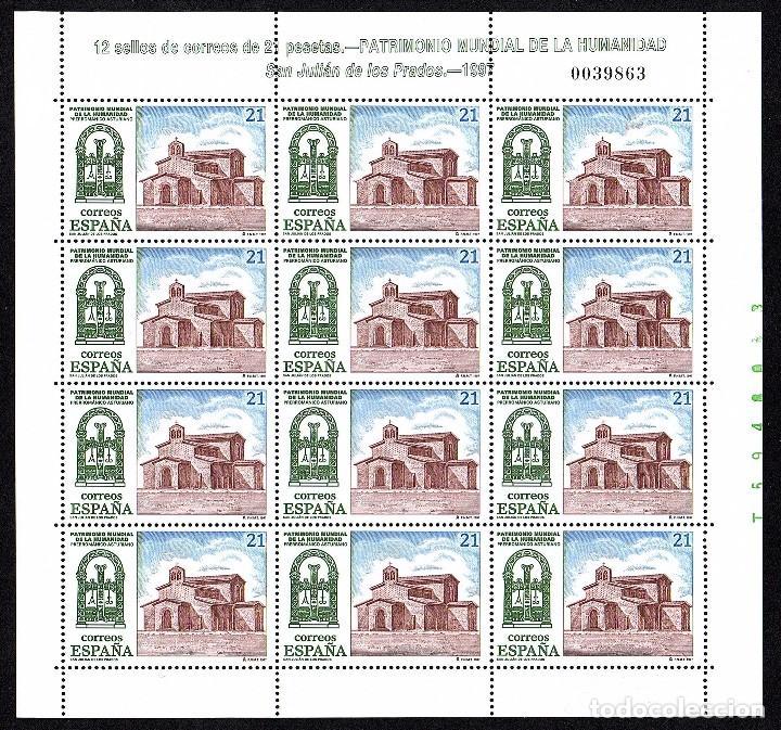 MINIPLIEGO NUEVO PATRIMONIO DE LA HUMANIDAD 1997 - 21 PTS. (Sellos - España - Juan Carlos I - Desde 1.986 a 1.999 - Nuevos)