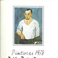 Sellos: DOCUMENTO FILATÉLICO DE PICASSO CON LA SERIE MATASELLADA , BARNAFIL 78. Lote 193240187