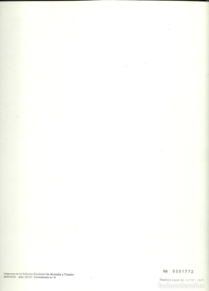 Sellos: Documento filatélico de Picasso con la serie matasellada , Barnafil 78 - Foto 4 - 193240187