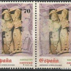 Sellos: ESPAÑA - DESPOSORIOS - CATEDRAL DE OVIEDO 1998 - DE F.N.M.T - 2 SELLOS EDIFIL Nº 3597 JUNTOS, NUEVOS. Lote 193357323