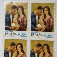 Timbres: SELLOS ESPAÑA, NAVIDAD GOYO DOMÍNGUEZ, 2002. Lote 193409357