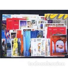 Sellos: SELLOS ESPAÑA AÑO COMPLETO AÑO 2010 DESCUENTO BAJO FACIAL. INCLUYE HB Y CARNETS. Lote 194085031