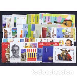 SELLOS ESPAÑA AÑO COMPLETO AÑO 2011 DESCUENTO BAJO FACIAL. INCLUYE HB Y CARNETS (Sellos - España - Juan Carlos I - Desde 2.000 - Nuevos)
