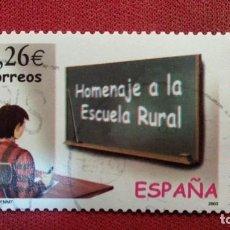 Sellos: + Nº 3978 ESPAÑA - SERIE HOMENAJE A LA ESCUELA RURAL - AÑO 2003 - LEER DESCRIPCIÓN. Lote 194125288