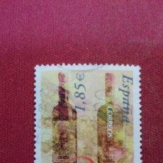 Sellos: + Nº 4018 ESPAÑA - SELLO VINOS CON DENOMINACIÓN DE ORIGEN (BIERZO) - AÑO 2003 - LEER DESCRIPCIÓN. Lote 194125420