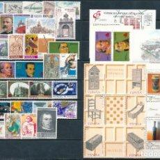 Selos: SELLOS DE ESPAÑA AÑO 1991 COMPLETO NUEVO. DESCUENTO FACIAL. MHN SPANIEN SPAIN. Lote 194137238