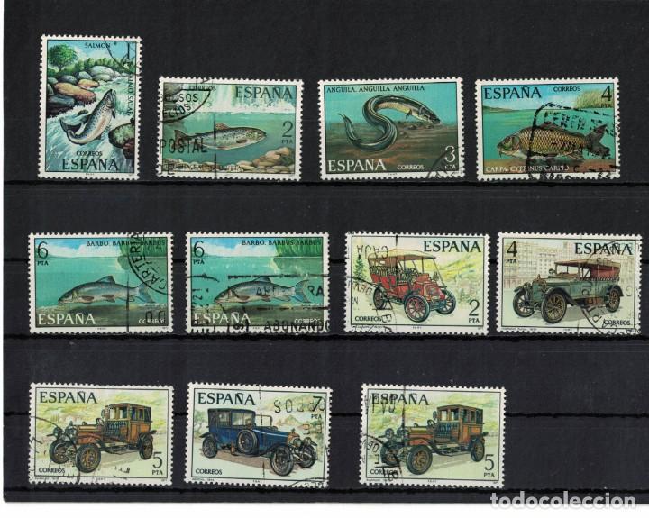 ESPAÑA EDIFIL Nº 2403/07 + 2407 + 2409/12 + 2411 AÑO 1977 2 SERIES COMPLETA + 2 SELLOS (Sellos - España - Juan Carlos I - Desde 1.975 a 1.985 - Usados)