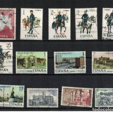 Sellos: ESPAÑA EDIFIL Nº 2450+2451/55+2439/42+2443/45 AÑO 1977 4 SERIES COMPLETA. Lote 194222395