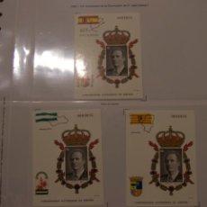 Sellos: PRUEBAS REY AUTONOMIAS 1995. Lote 194342518