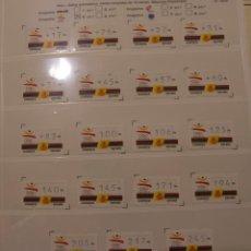 Sellos: AUTOMATICOS - ATMS - 4 - AÑO 1992 - BARCELONA OLIMPIADA '92 . Lote 194346450