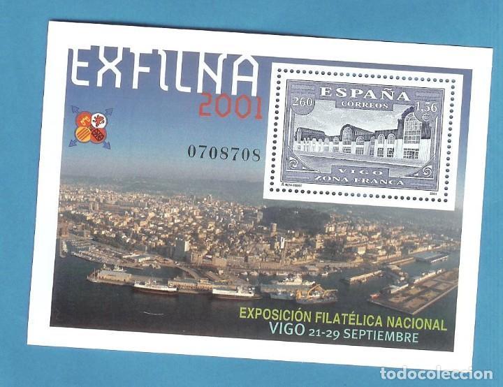 HB 2001 EXFILNA 2001 SELLO DE 1,56 EUROS DE FACIAL , 30% DESCUENTO (Sellos - España - Juan Carlos I - Desde 2.000 - Nuevos)